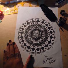 Mandala by Ma Tattoo Ma Tattoo, Mandala, Shoulder Bag, Tattoos, Bags, Handbags, Tatuajes, Tattoo, Totes