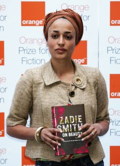 On Beauty By Zadie Smith (pictured here) - FUNK GUMBO RADIO: http://www.live365.com/stations/sirhobson and http://twitter.com/FUNKGUMBO