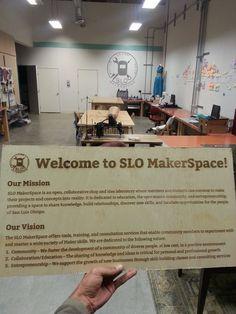 fabhub workspace - good simple manifesto San Luis Obispo, Purpose, Knowledge, Student, Simple, Facts