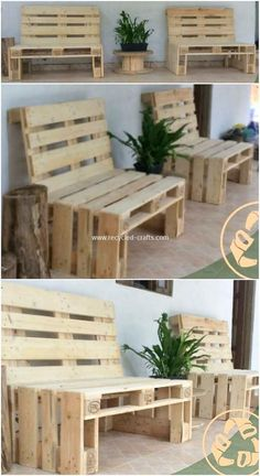 This pallet benches project is wonderfully designed out for your house outdoor or even the indoor portion area. If you have been on some plans to start off with your unique bench or couch ideas, then thinking about adding the wood pallet amazing material is the brilliant concept.