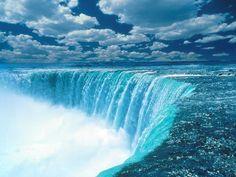 Blue waterfall | SEA & sky