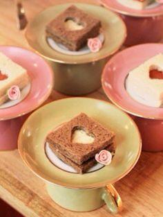 Cute little sandwiches