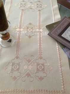 This post was discovered by tugba tugba. Discover (and save!) your own Posts on Unirazi. Drawn Thread, Thread Work, Crazy Quilting, Hardanger Embroidery, Hand Embroidery, Embroidery Patterns Free, Embroidery Designs, Bordados E Cia, Wedding Dresses With Flowers