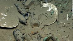 Artifacts discovered at the wreck site included ceramic plates, platters, and bowls. A wide variety of glass bottles for liquor, wine, medicine and food were also found -- including some of their original contents.  By CNN Wire Staff, Thu May 17, 2012