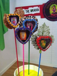 Shrines on a Stick | 25 Dia De Los Muertos Crafts To Die For