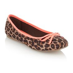 Girl's tan leopard printed pumps - Casual shoes - Shoes & boots - Kids -