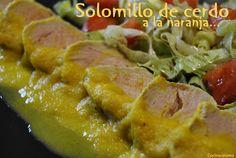 Cocina Varoma: Solomillo de cerdo a la naranja y canela