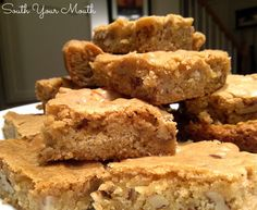 South Your Mouth: Pecan Chewies