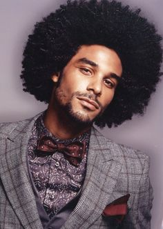 This is our discussion guide on the Afro hairstyles, covering Afro hair care for men and styling products for the Afro. This guide will include pictures and tips and advice on grooming the Afro. Black Men Hairstyles, Afro Hairstyles, Updo Hairstyle, Wedding Hairstyles, Black Power, Curly Hair Styles, Natural Hair Styles, Natural Beauty, Afro Men