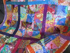 When the Moon Glows   Quilt Made with Kaffe Fassett by NonnaZac