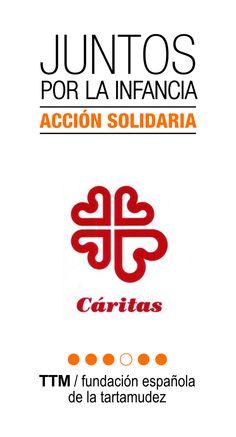Juntos por la Infancia. Acción solidaria Cáritas y Fundación Española de la Tartamudez #ttminfantil #yotartamudeoyqué