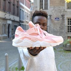 Tendance Basket Femme 2017- Nike Air Huarache Flamant Rose