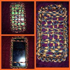 Paracord cell phone case