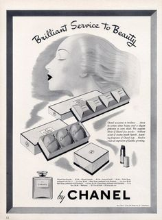 Vintage Soap Posters | ... (Cosmetics) 1943 Face Powder Hand Soap Toilet Soap Lipstick N°5