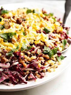Of the Fregola Sarda recipes I've tried, this one is my favorite! A beautiful, versatile salad with radicchio (or endive), hard boiled eggs, capers and a delightfully tangy, fresh lemon dressing. Easy Summer Meals, Healthy Summer Recipes, Vegetarian Recipes, Vegetarian Options, Hard Boiled, Boiled Eggs, Egg Recipes, Great Recipes, Favorite Recipes