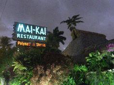 Mai-Kai Restaurant in Ft. Lauderdale FL  Polynesian Tiki Bar ~ fantastic place to go