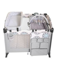 Baby Cargo Gray Plush Play Playard By