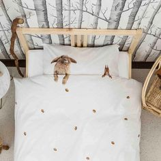 Furry Friends Bedding by Snurk #Adorable, #Bed, #Cute