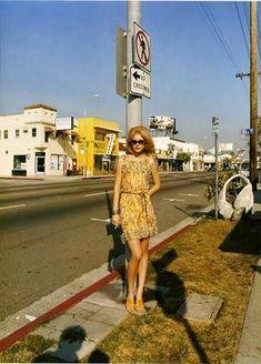 Stephen Shore Girl on Street