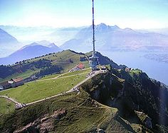 Summit of Mt. Rigi which has breathtaking 360 views on a clear summer day (I was lucky with weather!)