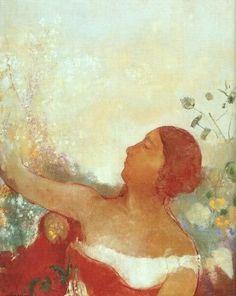 Farfalle eterne: Ofelia   Odile Redon