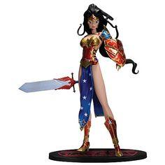 Wonder Woman anime statue
