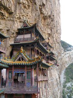 Xuankong Si hanging temple China | Flickr - Photo Sharing!