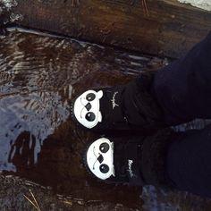 Panda Kids Shoes.