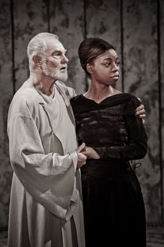 Derek Jacobi in William Shakespeare's King Lear at Donmar Warehouse Theatre, London Photo by Johan Persson