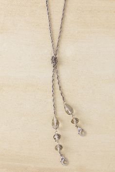 Double Delight Silver, this fabulous necklace holds TWO charms!  Love the style and versatility of this piece!