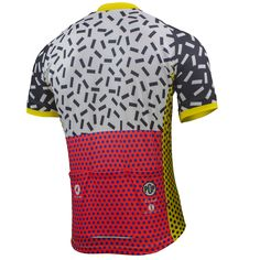 Pop 6 Cycling Jersey by Katherine Hall Men's | Artist-Inspired Cycling Apparel | Pactimo