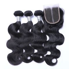 Value Sets 3 1 Body Wave With 4×4 Closure Indian Hair Extension [VBW01]