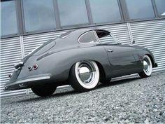 Grey Porsche 356 Roadster. v@e.