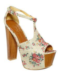 Jessica Simpson Shoes, Dany Platform Sandals - Jessica Simpson - Shoes - Macy's