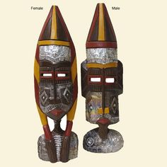 Fulani Wooden Sculpture (Ghana) - Overstock™ Shopping - Big Discounts on Statues & Sculptures