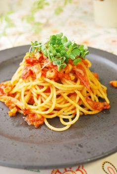 「たこのトマトソースパスタ」ayaka | お菓子・パンのレシピや作り方【corecle*コレクル】