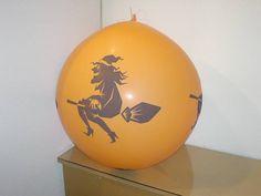 #Luftballon #Dekoration für verschiedene Anlässe #Halloween #balloon #orange