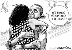 Zapiro: Obama and the house - Mail & Guardian