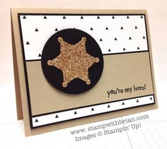 You're My Hero, Stampin' Up!, Brian King, PP183