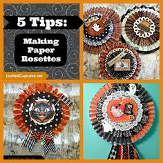 If you follow me on Instagram or Facebook, you probably know that I'm a bit obsessed with making paper rosettes, also called lollies or pinwheels. I've made a bunch for Halloween decorating, and I'm already looking forward to making more rosettes for Thanksgiving, Christmas and Valentine's Day! Here are a …