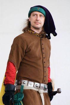 pánský kostým cca 1350