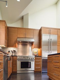 Photo of Brown Asian Kitchen project  by Rossington Architecture