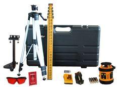 A Warehouse Full! - Johnson Self Leveling Rotary Laser Level Kit (Model 40-6517), $469.00 (http://www.awarehousefull.com/johnson-self-leveling-rotary-laser-level-kit-model-40-6517/)