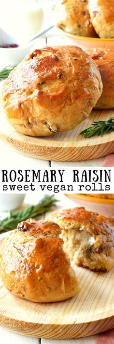 These vegan rolls with rosemary and raisins are the perfect balance of sweet and savory. This recipe is an egg-free version of the Italian pan di ramerino, a sweet bread traditionally prepared for Easter in Tuscany. They are delicious served for breakfast, brunch, an afternoon snack or even dessert.