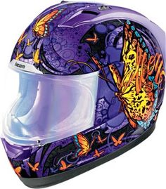 Icon Alliance Chrysalis Womens Motorcycle Helmets