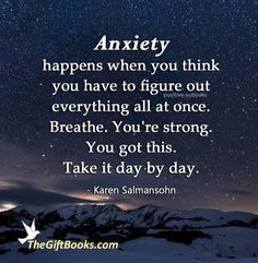 Life Lesson Quotes, Life Quotes, Life Lessons, Everything All At Once, Karen Salmansohn, Something To Remember, Positive Outlook, Feelings And Emotions, Powerful Words