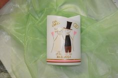 Hochzeitskerzen & Beleuchtung - Hochzeitskerze mit Brautpaar - ein Designerstück von clau-di-ne bei DaWanda