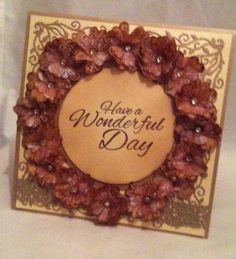 Card made with Sheena Douglas new stamp and die sets