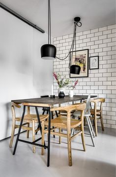 kitchen black pendant lamps