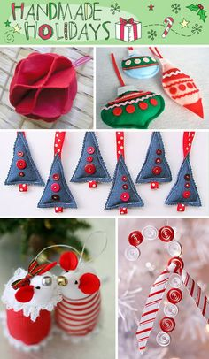 hand made ornaments